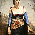 Corot's Agostino by Cora Wandel