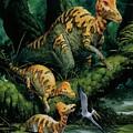 Corythosaurus by Deagostini/uig/science Photo Library