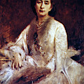 Cosima Wagner (1837-1930) by Granger