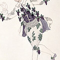 Costume Design For The Pageboy by Leon Bakst