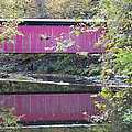 Covered Bridge Along The Wissahickon Creek by Bill Cannon