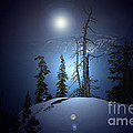 Crater Lake Midnight Oregon by Mike Nellums