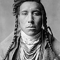 Crow Indian Man Circa 1908 by Aged Pixel