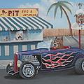 Cruizin' At Da L.a. Pit by Stuart Swartz