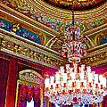 Crystal Chandelier In Dolmabache Palace In Istanbul-turkey  by Ruth Hager