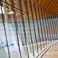 Curved Glass Wall Pattern by ELITE IMAGE photography By Chad McDermott