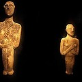 Cycladic Figurines by Andonis Katanos