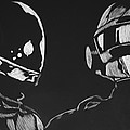 Daft Punk by Trevor Garner
