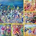 Dancing Friends by Judith Desrosiers