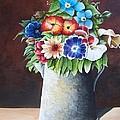 Deanne's Flower Pot by Martin Schmidt