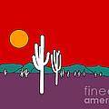 Desert Sunset by Methune Hively