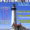 Destinations Usa Faux Magazine Cover by Mike Nellums
