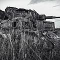 destroyed tank PzKpfw III T-3 by Dmitry Laudin