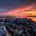 Dewey Beach Sunset by David Dufresne