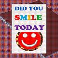 Did You Smile Today Background Designs  And Color Tones N Color Shades Available For Download Rights by Navin Joshi