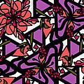 Digi-flora by Elizabeth McTaggart