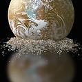 Dissolving Earth by Gwen Shockey/NASA