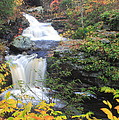Doanes Falls In Autumn by John Burk