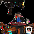 Doc Holliday Teaching Faro Crystal Palace Saloon Tombstone Arizona 2004  by David Lee Guss
