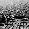 Dock At Island Lake by Jeff Stoddart
