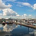 Dockside by Brigitte Mueller