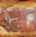 Dodge In Rust by Larry Bishop