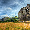 Dolbadarn Castle by Adrian Evans