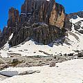 Dolomites - Pisciadu Peak by Antonio Scarpi