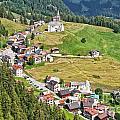 Dolomiti - Laste Village by Antonio Scarpi