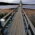 Doubling Point Lighthouse by Skip Willits