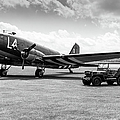 Douglas C-47a Skytrain Ready For D-day by Gary Eason