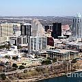 Downtown Austin by Bill Cobb