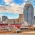 Downtown Cincinnati Pano1 by Jack Schultz