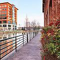 Downtown Greenville Sc by Carol VanDyke