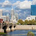 Downtown Indianapolis Indiana by Anthony Totah