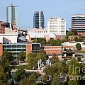 Downtown Knoxville Tennessee Skyline by Bill Cobb
