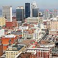 Downtown Skyline Of Louisville Kentucky by Bill Cobb