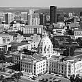 Downtown Skyline St. Paul Minnesota by Bill Cobb