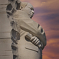 Dr. Martin Luther King Jr Memorial by Susan Candelario