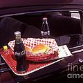 Drive-in Coke And Burgers by Paul W Faust -  Impressions of Light
