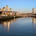 Dublin At Dawn by Artur Bogacki