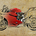 Ducati 1199 Panigale R WSBK 2013 by Drawspots Illustrations