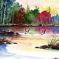Duck Lake by Steven Schultz