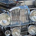Duesenberg Front Chrome Automobile Grille by David Zanzinger