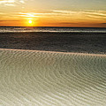 Dune Sunrise by  Island Sunrise and Sunsets Pieter Jordaan