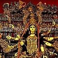Durga Statue The Hindu Goddess #2 by Amitava Ray