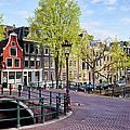 Dutch Canal Houses In Amsterdam by Artur Bogacki