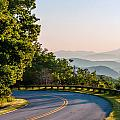 Early Morning Sunrise Over Blue Ridge Mountains by Alex Grichenko