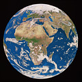 Earth From Space by Copyright Tom Van Sant/geosphere Project, Santa Monica/science Photo Library