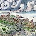 Earthquake, 1550 by Granger
